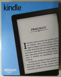 """Kindle E-Reader eBook 2016 8th Gen 6"""" 4GB Wi-Fi Built-in Audible Black-Brand New"""