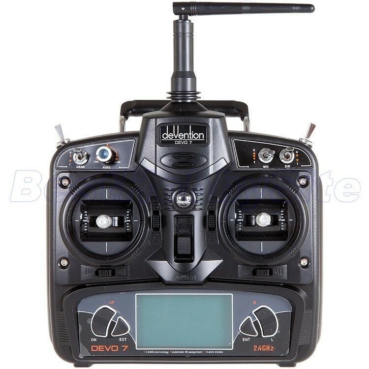 WALKERA DEVO 7 Devention 2.4GHz Transmitter 7CH Helicopter drone w o Receiver