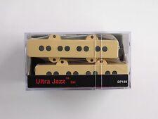DiMarzio Ultra Jazz Bass Set Creme DP 149