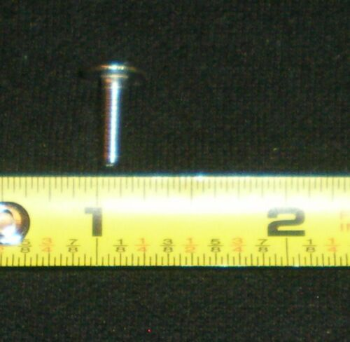 """truss head screw stainless,lot of 10,3100106x10 8-32 1//2/"""" long slotted"""
