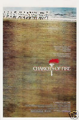 Chariots of fire cult movie poster print