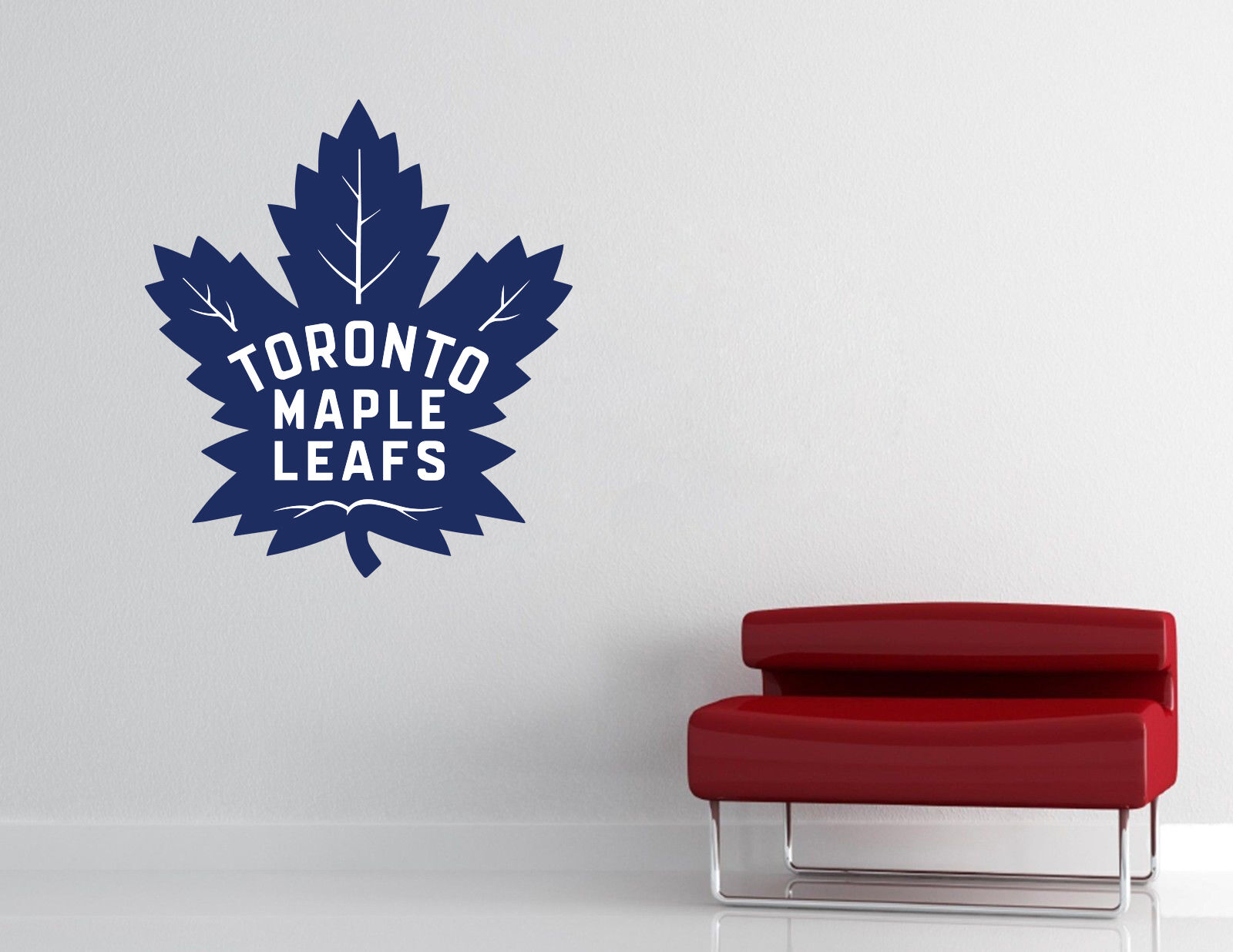TGoldnto Maple Leafs NHL Wall Decal Vinyl Sticker Decor Hockey EXTRA LARGE L250