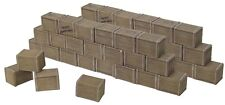 BRITAINS DIORAMA ACCESSORIES 20050 BISCUIT BOX WALL SECTIONS MIB