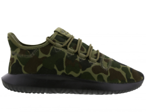 a7031c8efbc2 ADIDAS TUBULAR SHADOW TRAINERS   CAMO KHAKI GREEN BLACK CP8682   UK ...