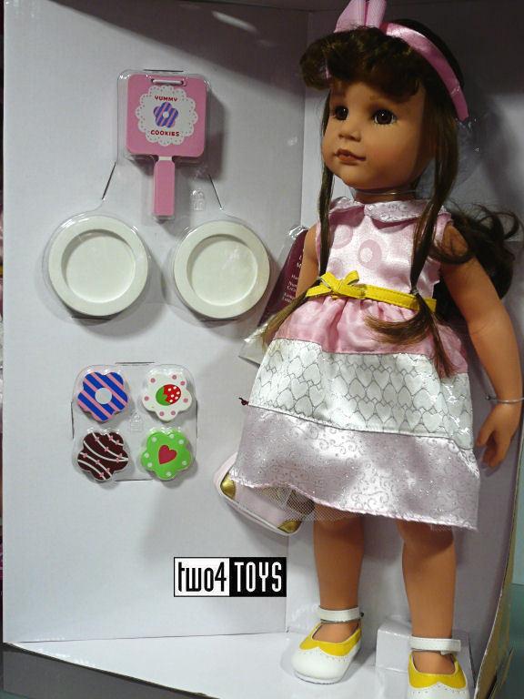 Gotz HANNAH HAPPY HAPPY HAPPY BIRTHDAY PLAY DOLL - 50 cm   19.8in. - NRFB 580ee5