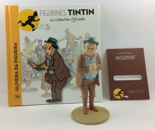 Collection officielle figurine Tintin Moulinsart 16 Le Senhor Oliveira