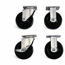 Knaack 695 Caster Set With Brakes 6 Pack Of 4