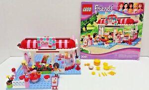 Lego Friends City Park Cafe 3061 Instructions 100 Complete Dr Ebay