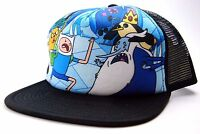 Cartoon Network Adventure Time Finn Vs Ice Mesh Back Snapback Trucker Cap/hat