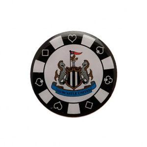 Newcastle united f.c - métal poker chip badge-cadeau  </span>