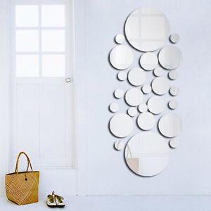 Wandfolie Spiegel Dekorative Wandaufkleber Selbstklebende Wandtattoos Dekor