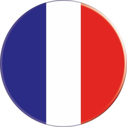 FRANCE FRENCH DRAPEAU FLAG PAYS COUNTRY Ø38MM PIN BADGE BUTTON