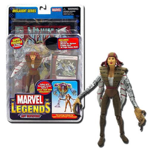 Marvel Legends Figurine Onslaught Series Lady Deathstrike figure Toy Biz 71325