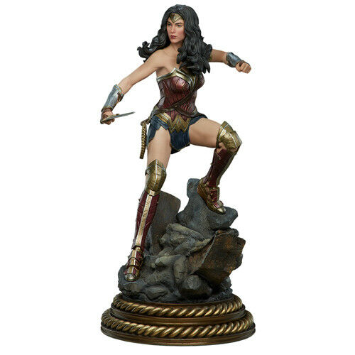 BATMAN VS SUPERMAN - Wonder Woman Premium Format Figure 1 4 Statue Sideshow