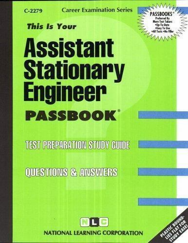 National Learning Corporation-Assistant Stationary Engineer BOOK NEW