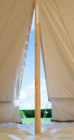 5m Two Piece Wooden Bell Tent Pole Free Delivery