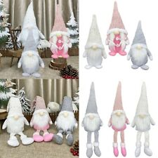 Details about  /1pc Cute Lovely Creative Pendent Doll Sitting Gnome Luminous Doll Plush Doll