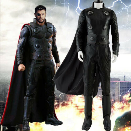 Avengers Infinity War Thor Odinson Outfit Halloween Cosplay Costume Outfit