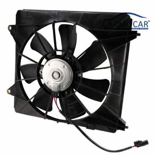 A//C Condenser Cooling Fan For 2009-2013 Acura TSX Right 2008-2012 Honda Accord