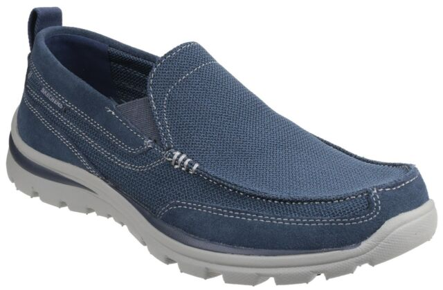 Milford Shoes Memory Foam Trainers Mens