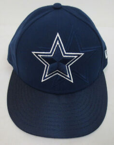 a23cf4104f8 DALLAS COWBOYS NEW ERA 59FIFTY FITTED HAT CAP NFL FOOTBALL NEW NAVY ...