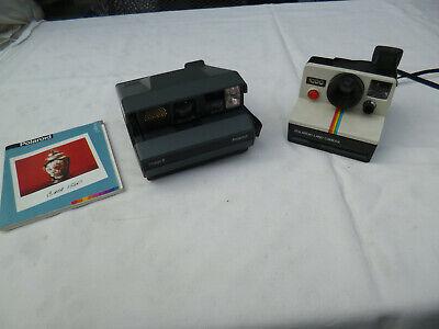 2 Alte Polaroid Kameras Image 2 Made In U.k. Mit Anleitung Und Land Camera 1000 Letzter Stil