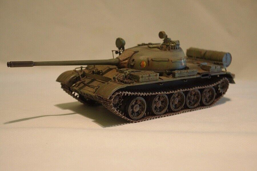 Soviet MBT T-55 ( 1958) in GDR army 1 35 built