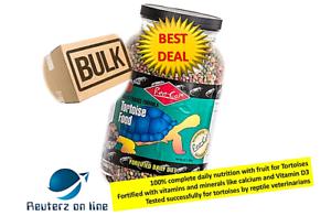 Rep-Cal-Maintenance-Formula-Tortoise-Food-Bulk-12Ibs-4x3-Ib-Free-Shipping-New