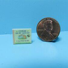 Dollhouse Miniature Replica of Book Stuart Little ~ B105