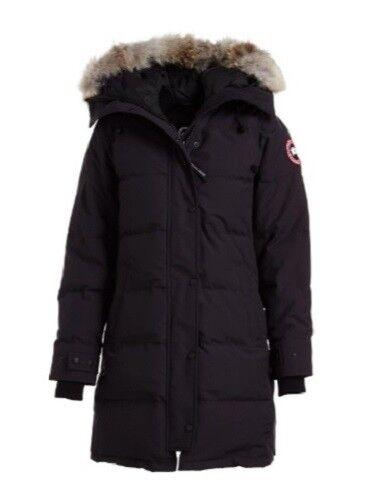 Canada Goose Ebay >> Canada Goose Womens Shelburne Coyote Fur Trim Parka For Sale Online