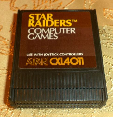 Star Raiders cartridge for Atari 400//800//XL//XE computer COMES GUARANTEED GAME