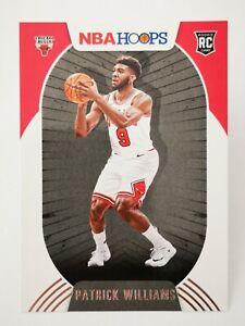 Panini Hoops 2020-21 N21 red NBA #228 Patrick Williams RC Rookie Chicago Bulls