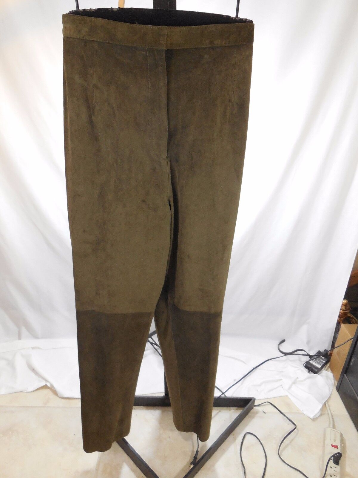 B20 WOMENS BROWN 100% SUEDE LEATHER PANTS INTERNATIONAL CONCEPTS INC PLUS 22W