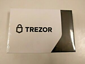 FACTORY SEALED Brand NEW Trezor Model T Bitcoin Ethereum Hardware Wallet