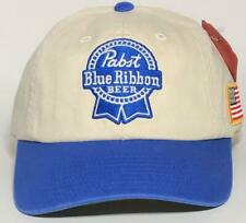 Pabst Blue Ribbon Low Profile Dk Navy Hat American Needle New Baseball Cap