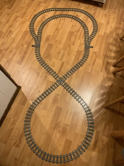 LEGO® 9V TRAIN 50x 4515 2865 Pieces Straight Metal Tracks Rails TOP PRICE