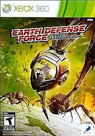 Earth Defense Force Insect Armageddon Microsoft Xbox 360, 2011  - $3.10