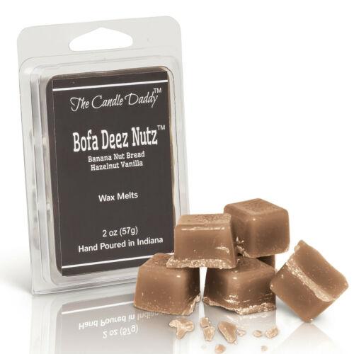 Bofa Deez Nutz 1 x 2oz Wax Melts Tarts Hazelnut Vanilla NEW