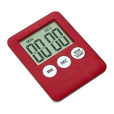 New Large Digital LCD Kitchen Cooking Timer Count-Down Up Clock Alarm Magnetic