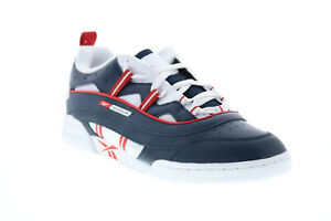Reebok-Workout-Plus-Rc-1-0-FW2557-Mens-Blue-Leather-Lifestyle-Sneakers-Shoes