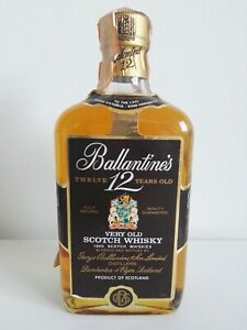 Ballantines-12-years-old-very-old-Scotch-Whisky-70cl-bottiglia-anni-80