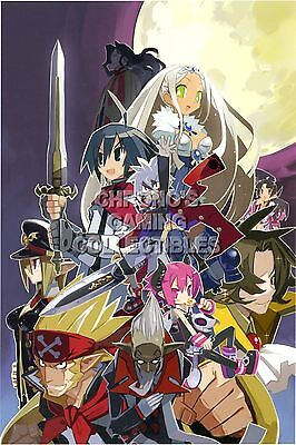 DIS003 RGC Huge Poster Disgaea 3 Absence of Justice Art PSP PS3