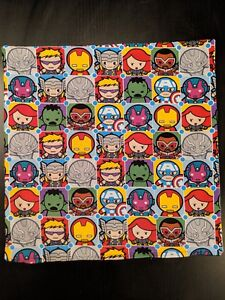 Marvel-Mini-Heroes-Throw-Pillow-15-034-x15-034-Iron-Man-Captain-America-Hulk
