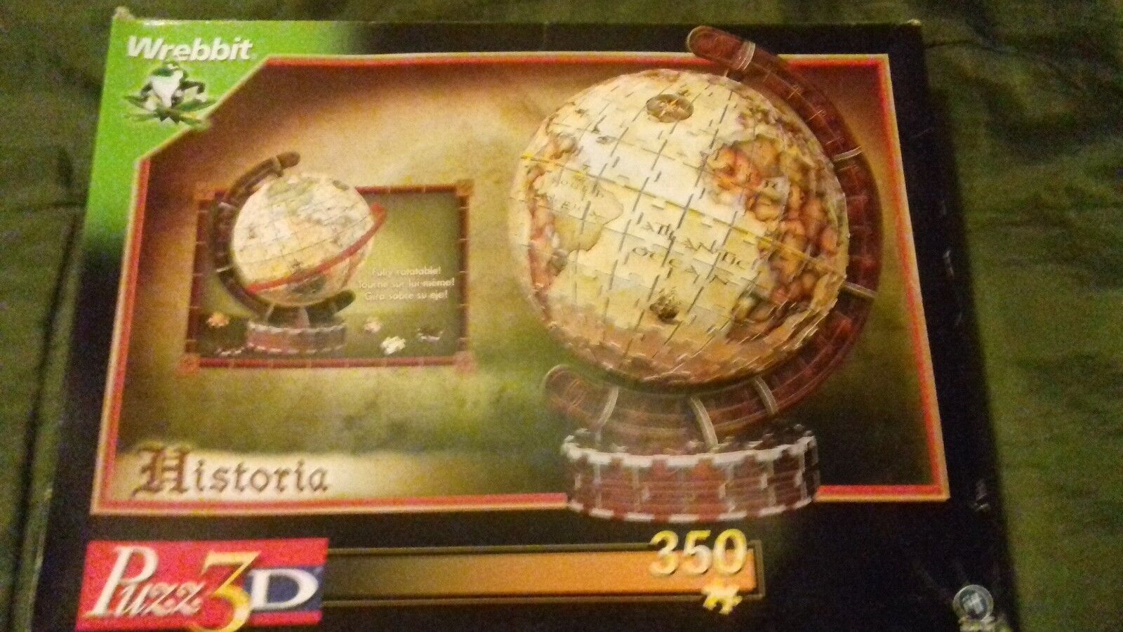 Puzz 3d historia globe very very very rare complete with box very good condition