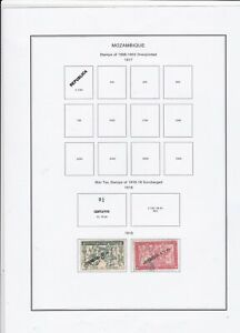 Mozambique Stamps Ref 14914
