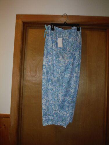 Women/'s Pajama Pants size 2XL,XL,Croft  /& Barrow Multi Color 100/% rayon viscose