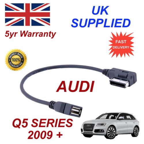 AUDI Q5 Series AMI MMI 4F0051510Q MP3 MEMORY Stick USB Cable