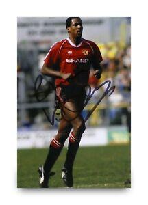 Vivian-Anderson-Signed-6x4-Photo-Manchester-United-Autograph-Memorabilia-COA