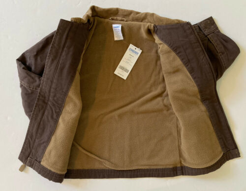 Details about  /NWT Gymboree Extreme Animals XS 3-4 Brown Fleece Lined Barn Jacket 3T-4T