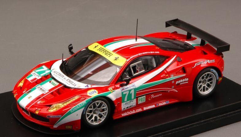 FERRARI 458 N.71 22th Le Mans 2012 BERTOLINI-BERETTA-CIOCI 1 43 1 43 FJM1343004